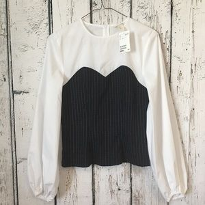 H&M long sleeve top size 6